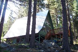 CHARMING A FRAME CABIN WITH PARTIAL LAKEVIEW BACKING TO FOREST SERVICE LAND