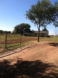 ROCK HOME ON 2 ACRES, SHALLOWATER