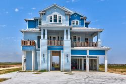 Seahorse Bay Front Custom Home