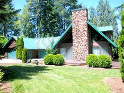 GORGEOUS PRIVATE 5.86 ACRES! ~ A-frame style, 3500 sq. ft. ~ Virtual Tour